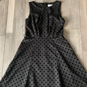 Polka Dot Dress Perfect for Winter!